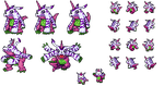 Psychemon Sprite - Gabumon Recolour by Wooded-Wolf