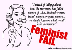 Feminism Fail by Gyno-Star