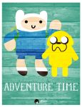 Adventure Time Cute Vintage by RemiTripolaroid