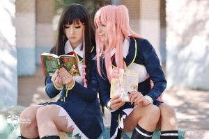 What are you reading? by Katherin-Wheel