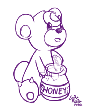 Day 20: HONEY by MelsSquirtle