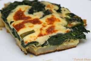 Spinach potato bake by patchow
