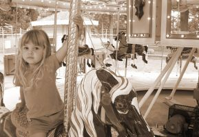 carousel horses by onfire4Him