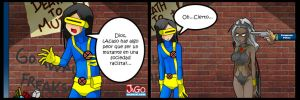Living with Hipstergirl and Gamergirl-146 by JagoDibuja