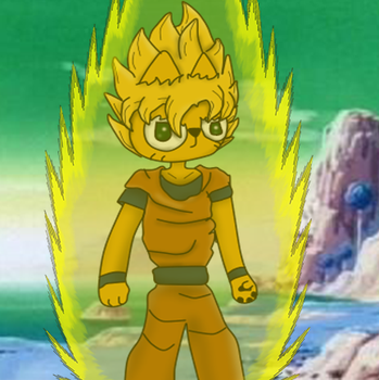 Blent Super Saiyan by GiruGamer45