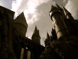 Hogwarts castle II by theprophetchuck