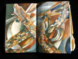 fractured guitar by duskemi