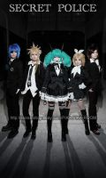VOCALOID Secret Police3 by PIKAPIKAROOM
