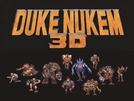 Duke Nukem Pawn Collage by Kaal979