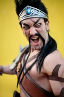 Draven Cosplay - League of Legends PAIN Leon Chiro by LeonChiroCosplayArt