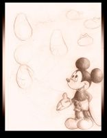Mickey Sketch by IDCabrera