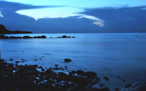 A Baltic Sea evening by jchanders