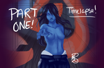 WIP: Fatal Frame 3 Fan Art Redo (With Video) by Dezby