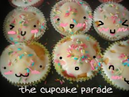 the cupcake parade by cupcakedream