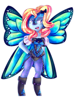 The Butterbutt Is Now Humanoid by Kookoi