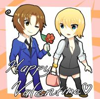 Happy Valentine Fem!GerxIta by EverlineStar