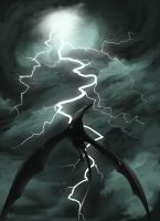 Lightning King by Rorelse