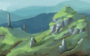 standing stones by balloonwatch
