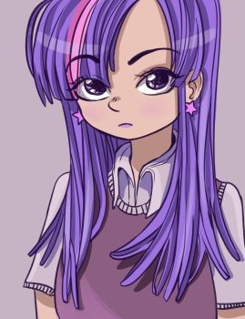 Twilight Sparkle from My Little Pony by 0cilo