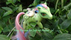 My little pony custom jupi persona by AmbarJulieta