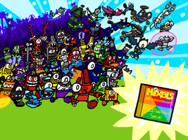 Happy 3rd Anniversary Mixels! (+200w Special) by AngryBirdsandMixels1