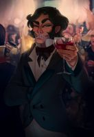 A Toast by painted-bees