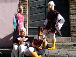 Rito cosplay group - Lucca Comics and Games 2007 by Skull-the-Kid