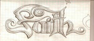 faith tattoo design by Queen-Of-Fables