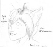 Sketch for KCBarron2000 by Canis5lupis