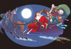 Skullkickers Christmas by Zubby