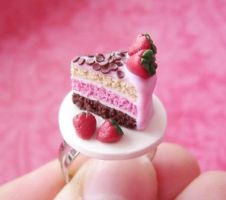 Neapolitan cake ring by mmagda