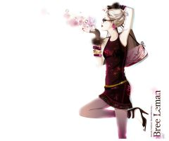 girly trendy fashion by BreeLeman