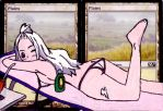 Plains Alter Art (Mirajane Strauss sunbathing) by Abystoma