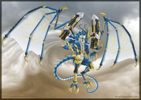 Bahamut X - Commission by DrakainaQueen