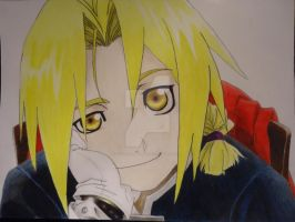 Edward Elric by coderra4ever