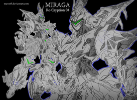 Miraga from my story, Re-Cryption by mavos9