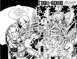 Skullkickers Sketch Cover by ElfSong-Mat