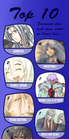 Top Ten White Hair favorites by PurpleBlaziken