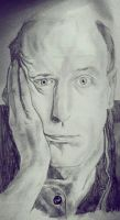 Graham Chapman by sillycamelot