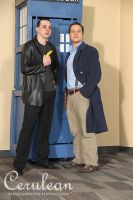 Doctor Who Photoshoot: The Doctor and Jack by StrangeStuffStudios