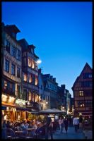 Sunset in Rouen by MonLerma