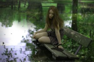 Swamp Girl by mammothbay