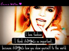 Emma Watson's quote by MIKEYCPARISII