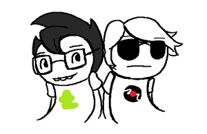 MSPA Animation: Sunglasses by SnapdragonSoda