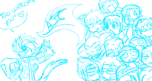 iScribble--Welcome Welcome by AnimeSplooferCorp