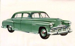 age of chrome and fins : 1952 Plymouth by Peterhoff3