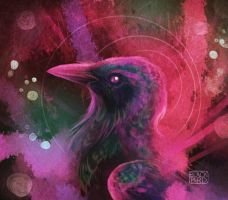 Painted Bird by black-brd