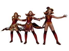 'DOTA 2' Lina the Slayer XPS ONLY!!! by lezisell