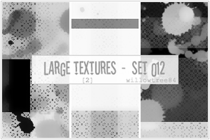 large textures - set 12 by willowtree84