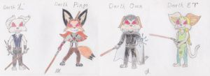 Precocious Sith Lords by Wolf-Guard